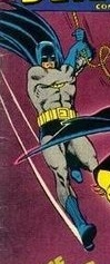 Carmine Infantino's take on Batman