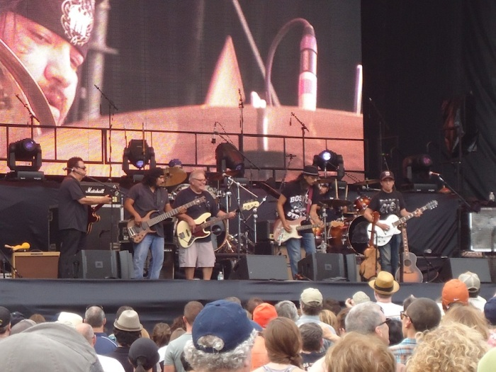 Los Lobos, Out of the Box Festival, 2013, Boston, MA Photo by C H Willson.