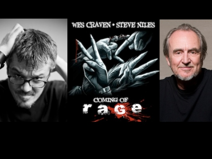 Steve Niles (left) and Wes Craven team up for Coming Of Rage.