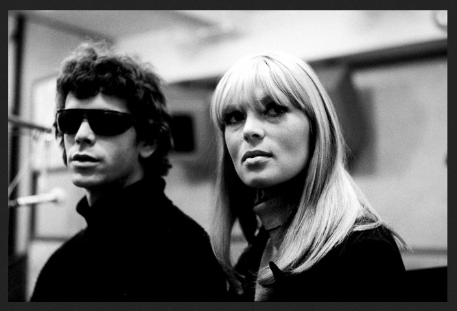 Lou Reed and Nico from the Velvet Underground.