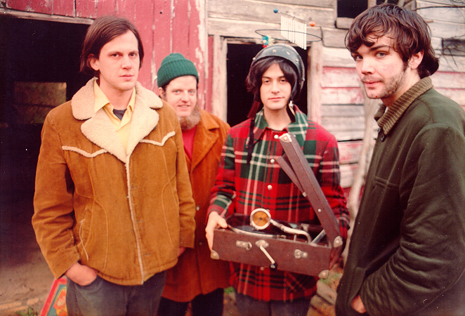 Neutral Milk Hotel played to a sold out Orpheum Theatre in Boston, MA